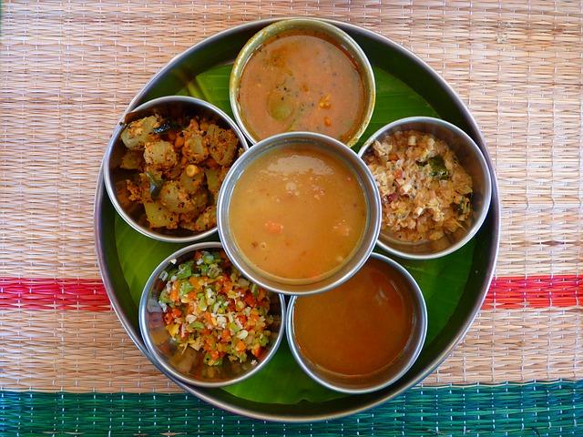 thali cucina indiana piatti
