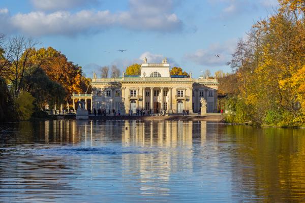 Palazzo sull'acqua, Parco Lazienki