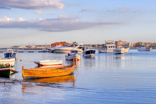 barche a Marzamemi, Sicilia