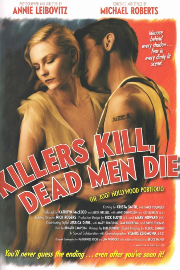 Noirvember Day 9 - Killer Kill, Dead Men Die
