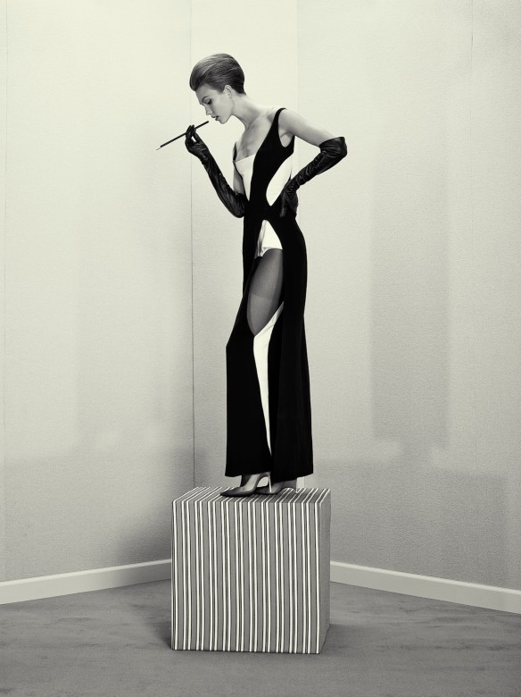Karlie Kloss by Roe Ethridge (A Head For Business And A Body For Sin - Acne Paper _14 Fall 2012)