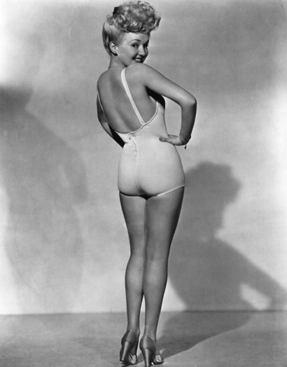 Betty Grable pin up