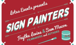 The Sign Painter Movie