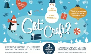 Got Craft? :: Dec2013 Vendor Line Up!
