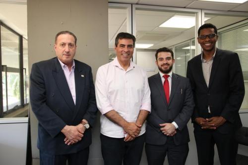 29.08.2019 Visita do presidente da Câmara de Comércio, Desenvolvimento e Integração Brasil