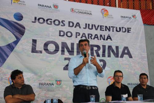 09.09.2019 Lançamento oficial dos Jogos da Juventude doParaná