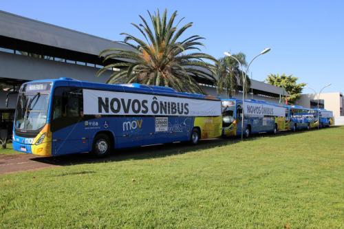 05.03.2020 Entrega de novos ônibus