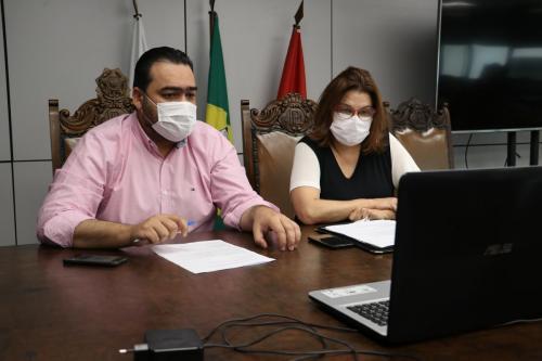 23.06.2020 - Coletiva secretários Saúde e Idoso sobre Covid19 em ILPs - Fotos: Vivian Honorato