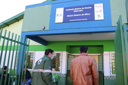 02.07.2020 Reabertura da UBS do Jardim Eldorado