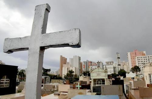 29.10.2020 - ACESF reforça mudanças na visitação de cemitérios - Fotos: Emerson Dias