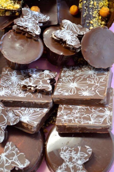 Poured Chocolates