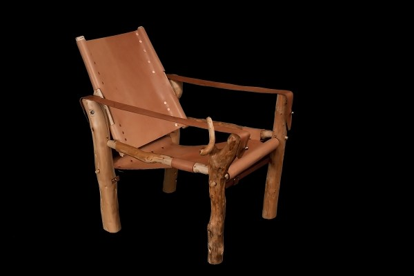 Rustic Roorkhee Chair, assembled