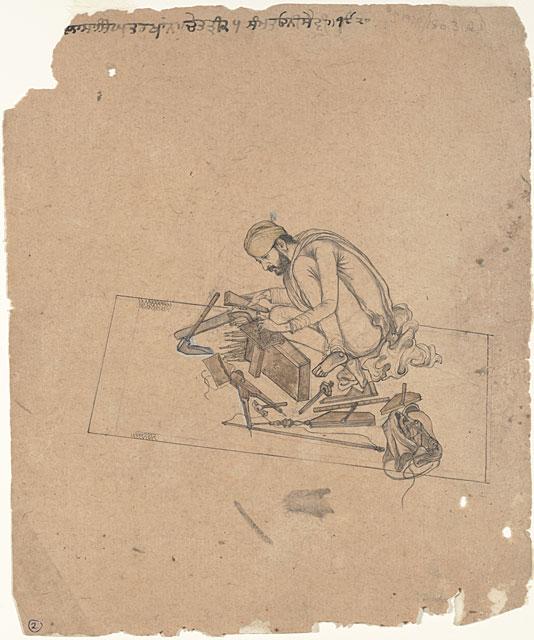 sikh_carpenter_1868