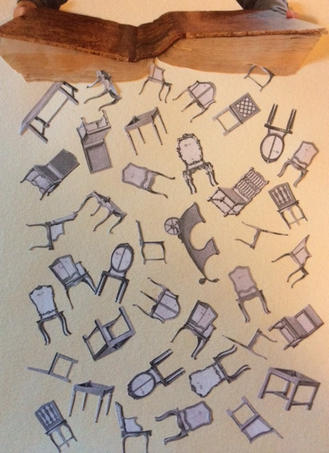 Falling chairs