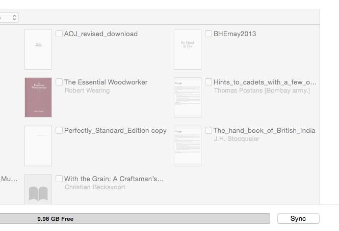 Adding a pdf to Your iPad