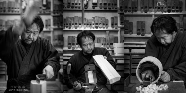 Nakagawa Shuji, oke maker of Kyoto.