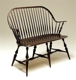 Continuous Arm Settee by Peter