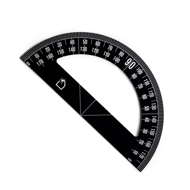 FLW Big Protractor - White