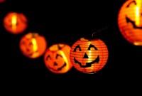 happy halloween string lights