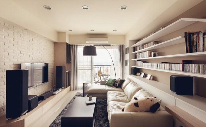 How To Light A Narrow Living Room Louie Lighting Blog