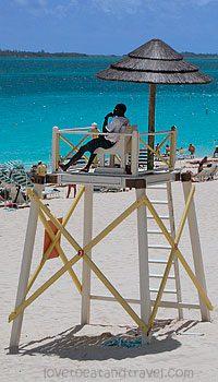 Bahamas Beach Life Guard