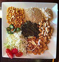 Mingalaba Restaurant in Burlingame - Tea Leaf Salad