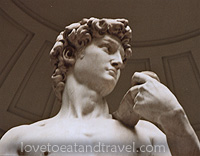 Statue of David - Florence, Italy