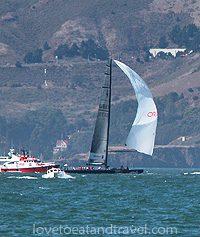 San Francisco - Sailing in SF Bay