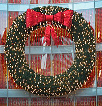 Christmas in San Francisco - Holiday Wreath, Union Square