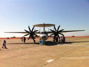 Travis Air Show - E-2 Hawkeye
