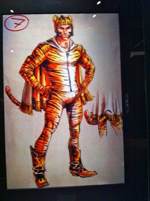 """Sketh of costume at Gaulter designed for Pedro Almodovar's film """"The Skin I Live In"""""""