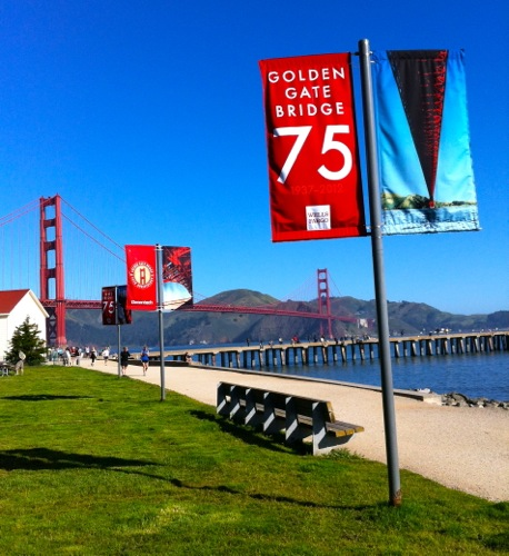 "Golden Gate Bridge ""75th Anniversary"" May 27, 2012 - © LoveToEatAndTravel.com"