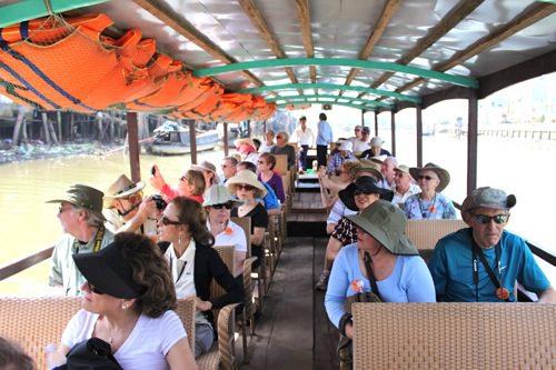 Mekong Delta Boat Ride, Vietnam - © B. Miller