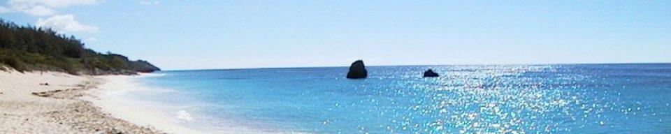Bermuda White Sandy Beach