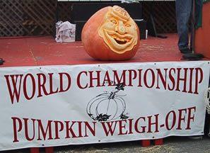 Half Moon Bay World Championship Pumpkin Weigh-Off – © LoveToEatAndTravel.com