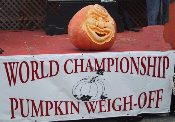 Half Moon Bay Championship Pumpkin Weigh-Off Contest for Halloween  – © LoveToEatAndTravel.com