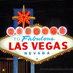 Las Vegas Sign at Night – © LoveToEatAndTravel.com