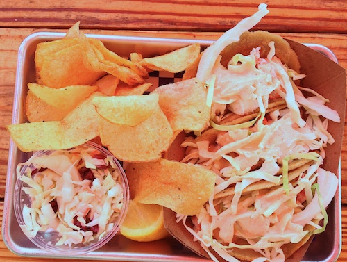 New England Lobster Market and Eatery Restaurant in Burlingame California - Lobster Tacos
