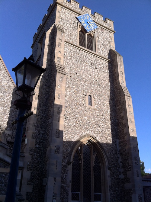 St. Martin's Church in Ruislip – © LoveToEatAndTravel.com