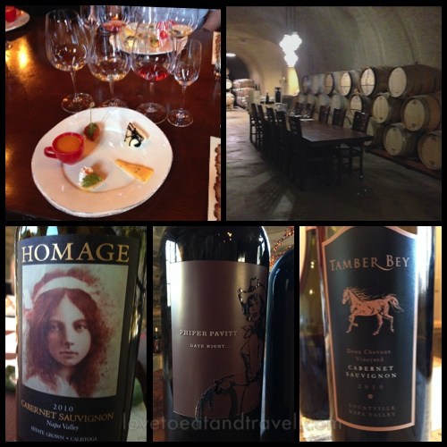 Wine-tasting in Calistoga, California – © LoveToEatAndTravel.com