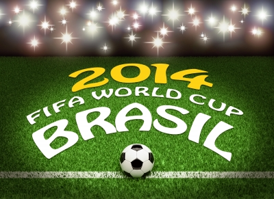 Brazil 2014 World Cup - Photo Credit By-Danilo-Rizzuti - FreeDigitalPhotos