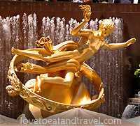 Rockefeller Center Ice Rink, New York City - © LoveToEatAndTravel.com
