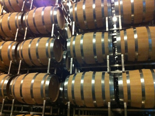 Sonoma vineyard wine cellar, Sonoma Valley, CA – © LoveToEatAndTravel.com