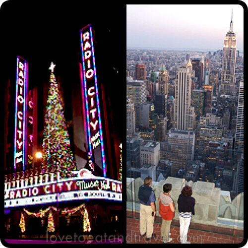 Radio City Music Hall Christmas Spectacular Show and Top of the Rock Observation Deck at Rockefeller Center, NYC - © LoveToEatAndTravel.com