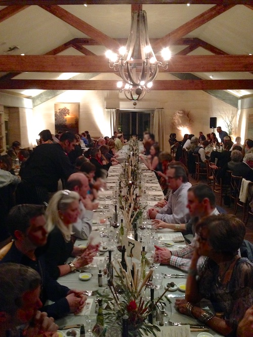 Sonoma Valley's Feast of the Olives Dinner – © LoveToEatAndTravel.com