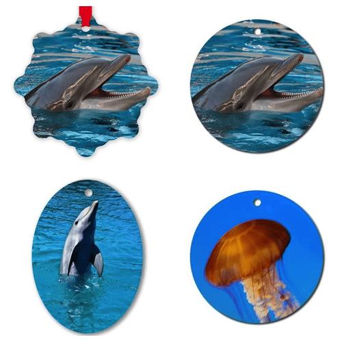 Dolphin and Jellyfish Ornaments – © LoveToEatAndTravel.com