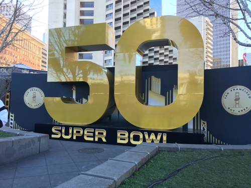 Super Bowl 50 at Super Bowl City, San Francisco - © LoveToEatAndTravel.com
