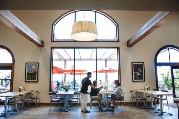Gloria Ferrer Tasting Room and Terrace - Photo Credit: Gloria Ferrer