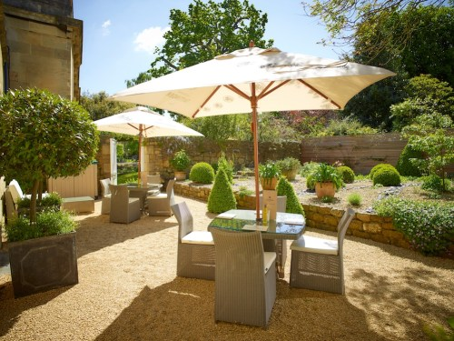 The Royal Crescent Hotel & Spa - Spa Garden © The Royal Crescent Hotel & Spa