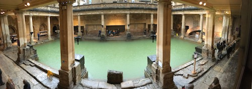 The Roman Baths, Bath, UK - photo © Love to Eat and Travel